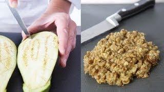 Technique De Cuisine : Réaliser Un Caviar D'aubergine