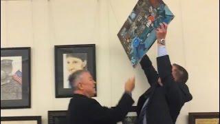 Ferguson Painting Comes Down, Again