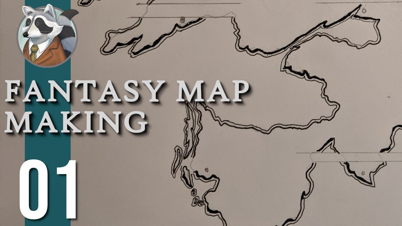 Download Let's Make a Map! | Fantasy Map Making | Ep.1 Coasts, Mountains, & Rivers