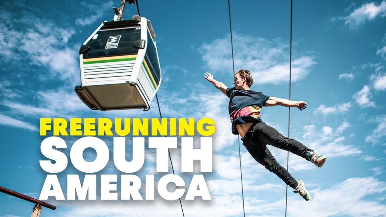 South America's Craziest Freerunning Spots w/ Jason Paul, Pasha Petkuns & Dimitris Kyrsanidis