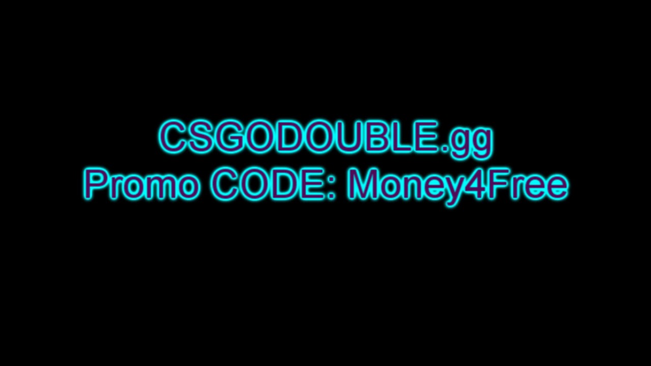 csgo double promo code