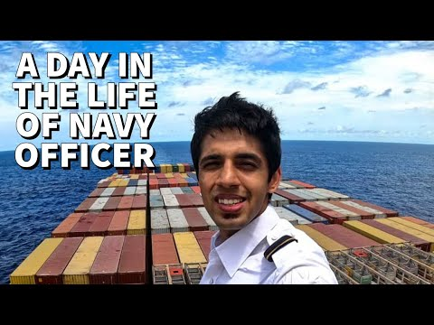 My Day Onboard A MEGA Cargo Ship As An Officer
