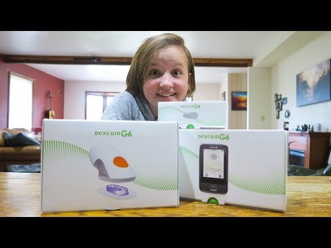 UNBOXING THE NEW DEXCOM G6 CGM - LIFE WITH TYPE 1 DIABETES!