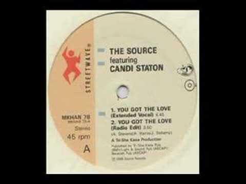 Candi Staton You Got The Love ( Original 1986 Version )
