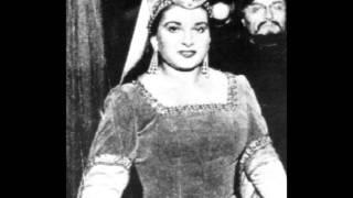 IL Trovatore 1953 LIVE Scala Maria Callas (D'amor sull'ali rose + Miserere)