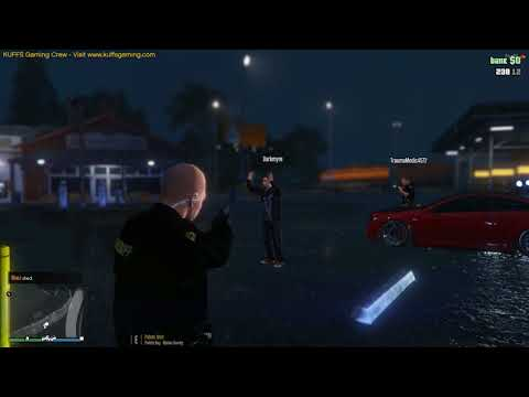 Grand Theft Auto V - KUFFS Gaming Multiplayer Server - Vehicle failing to stop