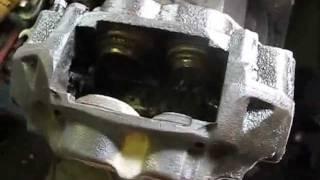 Rebuilding a Toyota Solid Axle Brake Caliper