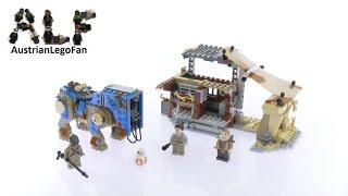 ليغو حرب النجوم 75148 لقاء على Jakku Tm - Lego سرعة بناء استعراض