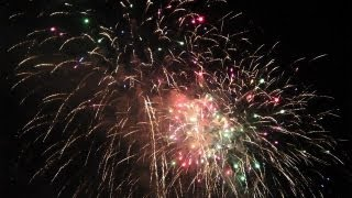 Katsushika Fireworks Festival 2012 at Shibamata, Tokyo [iPhone 4S/HD]