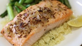 Glazed Salmon With Couscous!