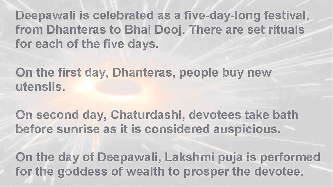 What's eaten at Diwali?