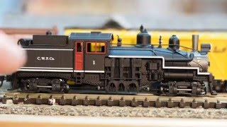 Atlas N Scale Shay Locomotive And Layout Update