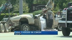 3 dead in crash in Dripping Springs