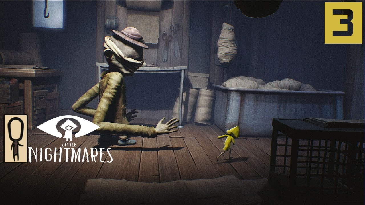 Little Nightmares Gameplay Part 3 Daddy Long Arms