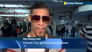 World' First Openly Gay Boxer Orlando Cruz Trains In Nyc Ahead Of Next Month's Wbo World Title Fight