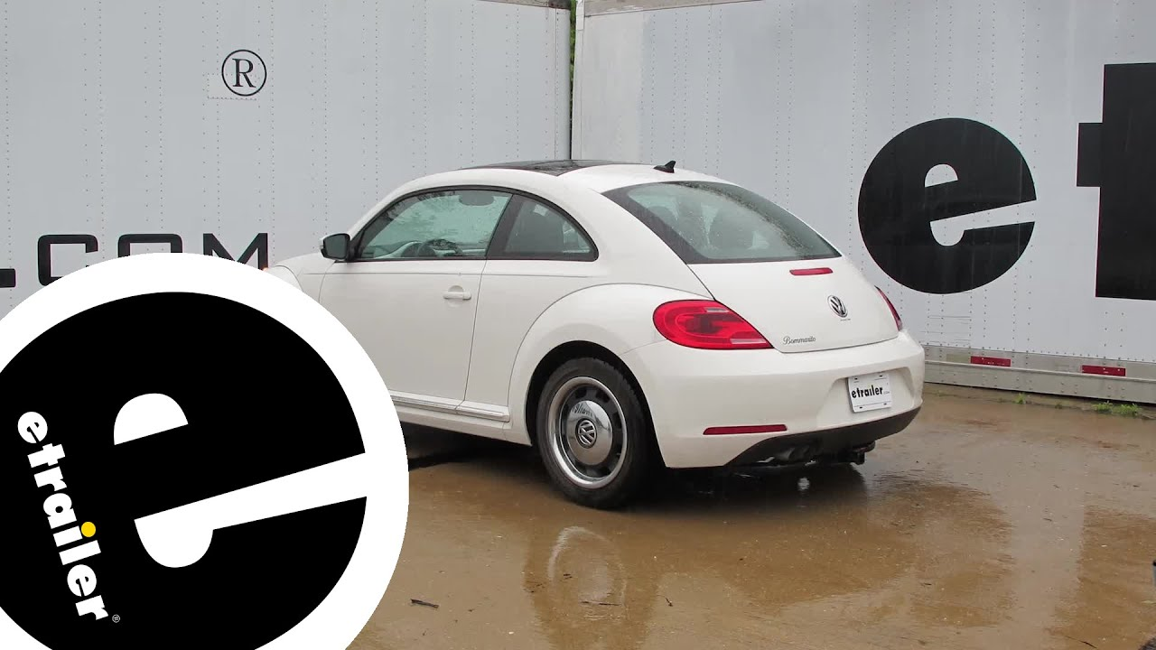 small resolution of trailer hitch installation 2012 volkswagen beetle curt 2012 vw beetle wiring harness trailer