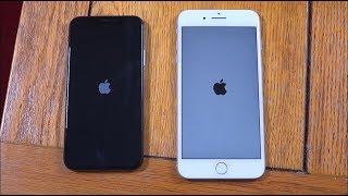 iPhone X vs IPhone 7 Plus - Speed Test!