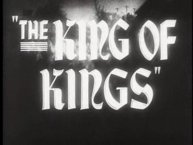The King of Kings - 1927 Film Trailer