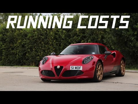 Alfa Romeo 4C Running Costs