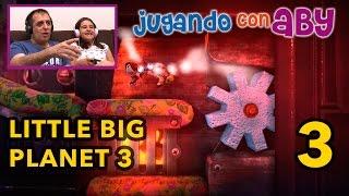 LittleBigPlanet 3 - Gameplay #03 - Mansión Puntador