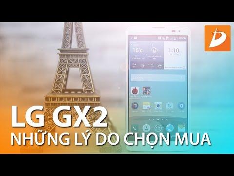 LG GX 2 những lý do nên chọn mua