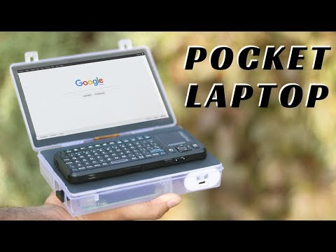 How To Make Mini Laptop at Home