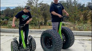 Segway with truck tires!