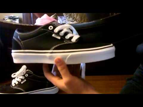 646ebe8797 Unboxing Video  Vans Atwood White Black HD - YouTube