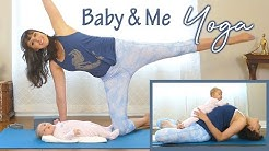 Gentle Baby & Me Yoga to Rebuild the Pelvic Floor Postpartum, Full Body Stretch, 4th Trimester