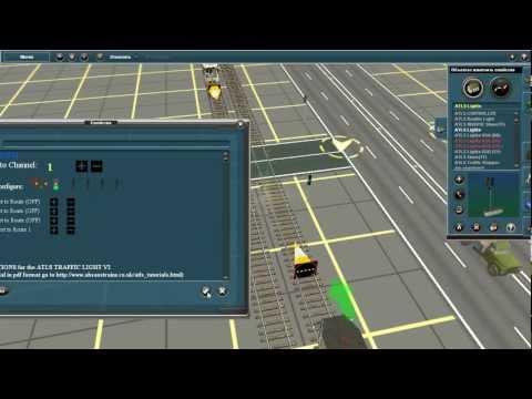Как настроить светофоры в trainz 2010 видео уроки