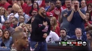 Drake Clowns Giannis Antetokounmpo After Missed Free Throw In Game 4