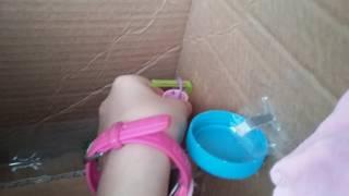 El yapımı barbie evi