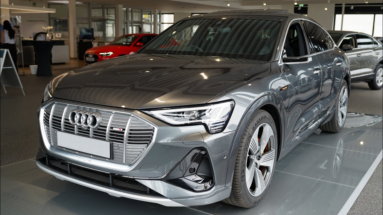 2020 Audi E Tron Sportback S Line 55 Quattro 409hp Visual Review Youtube Audi e tron 55 quattro s line