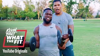 Bulk up With the Boss | Kevin Hart: What The Fit | Laugh Out Loud Network thumbnail