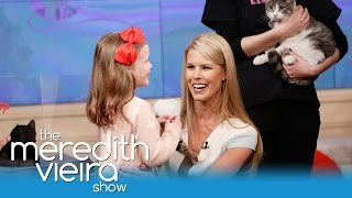 A Kitten Surprise From Beth Stern And North Shore Animal League! | The Meredith Vieira Show