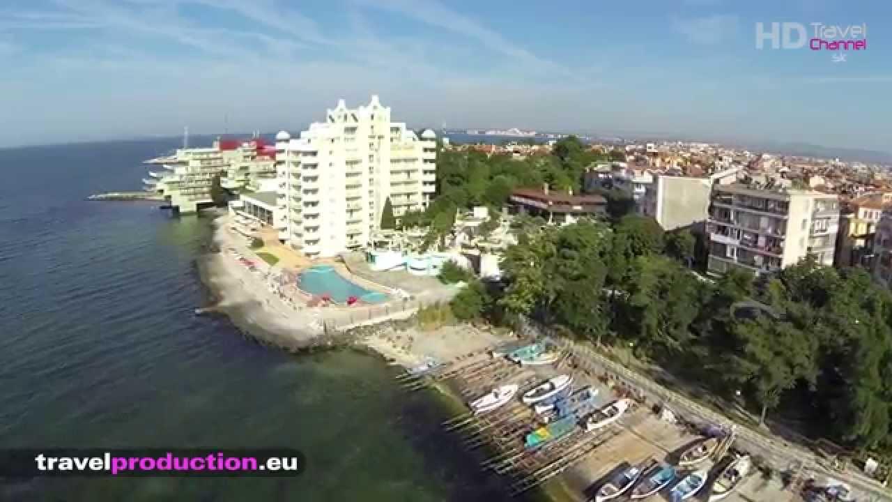 Pomorie, Bulgaria - (Flight video) Travel Channel Slovakia