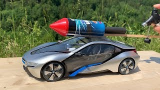 Rocket powered BMW i8 RC CAR !!