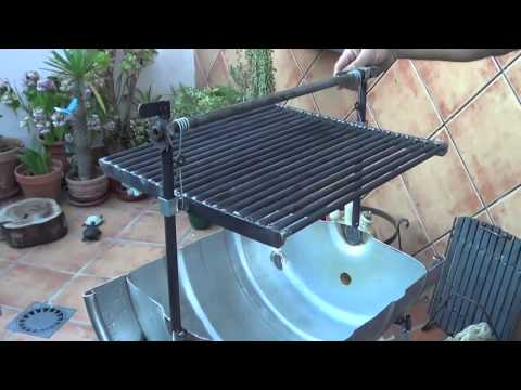 Barbacoa horno oculta en una lavadora doovi for Como encender una barbacoa