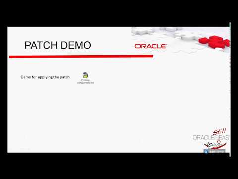 Oracle Database Patch
