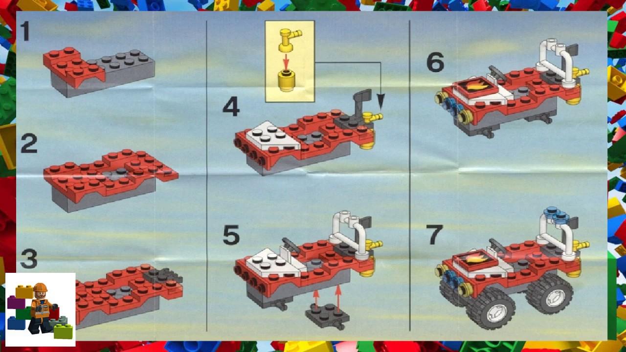 Lego Instructions City Fire 4914 Promotional Set Youtube