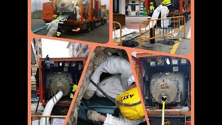 Rehabilitación y Reparación de tuberías con Manga  continua y Resina