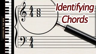 How to Identify Chords Written on Sheet Music - Lesson for Beginners Mp3