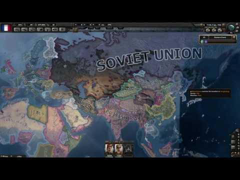 Hearts of Iron 4 Garrusszal (PVP) Le Tengely - 1. rész - Stratégiai érdekek