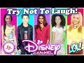 Try Not To Laugh Challenge Disney Stars Edition | Funny Disney Channel Stars Musical.ly 2017