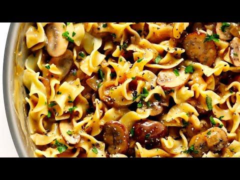 Mushroom Stroganoff (Vegetarian)