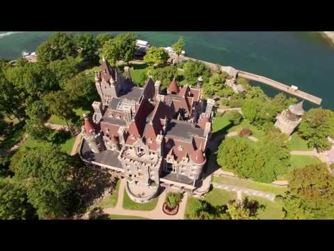 Fly over Boldt Castle in Alexandria Bay