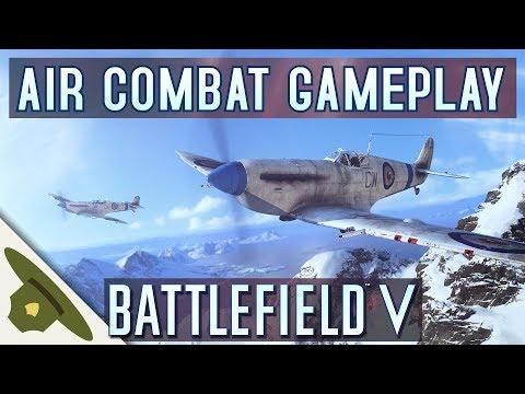 Battlefield 5: AIR COMBAT FIRST LOOK! / Spitfire / Stuka / BF 109 /