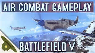 Battlefield 5: AIR COMBAT FIRST LOOK! / Spitfire / Stuka / BF 109 /