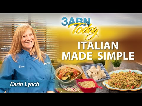 """3ABN Today Cooking - """"Italian Made Simple"""" (TDYC018034)"""