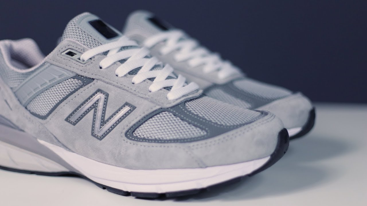quality design 74cda f292e NEW BALANCE 990 V5 | Unboxing KICKS